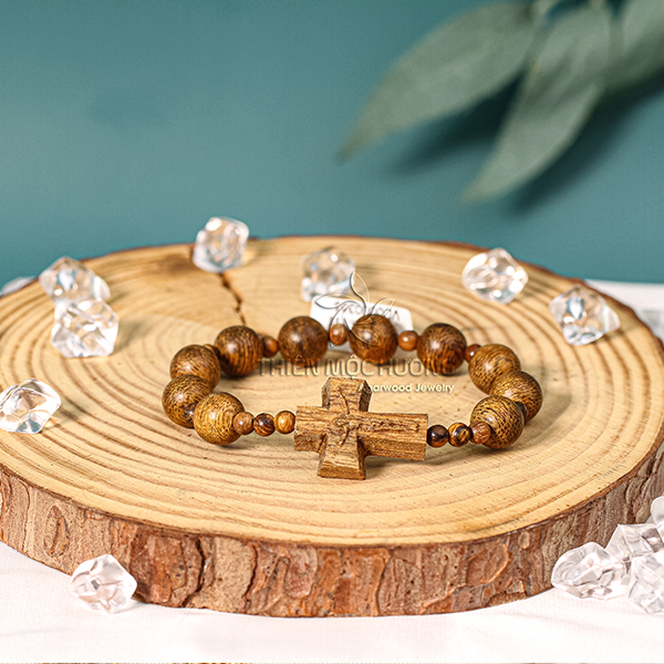Rosary bracelet - agarwood classic