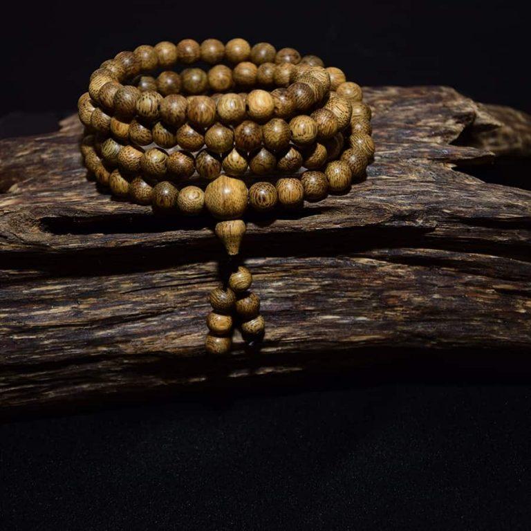 108 beads agarwood bracelet