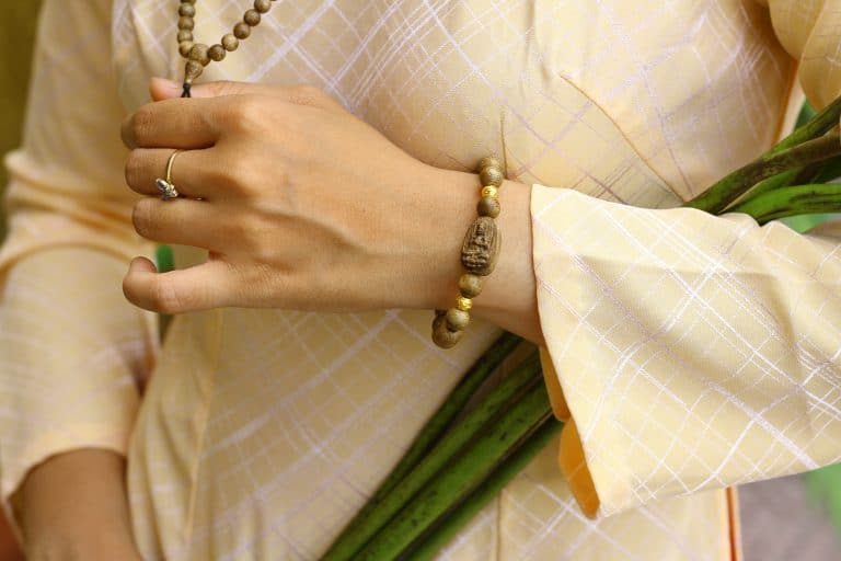 Guardian Buddha Agarwood Bracelet