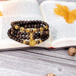 Indonesia Agarwood Beads Submerged Bracelet