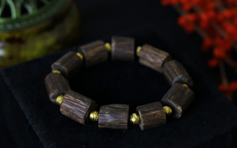 Laos Submerged Amorphous Agarwood bracelet