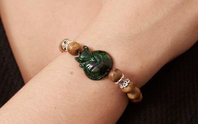 Succubus Stone Agarwood Bracelet