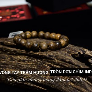 Indonesia Single Immersed Agarwood Bracelet Simple but Subtle