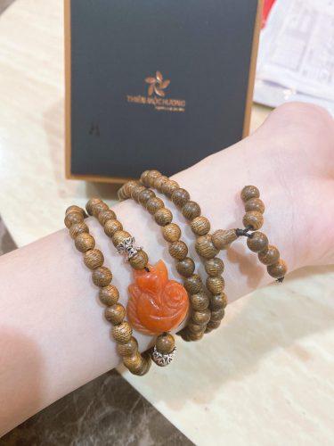 Agarwood beaded bracelet Basic – classic photo review