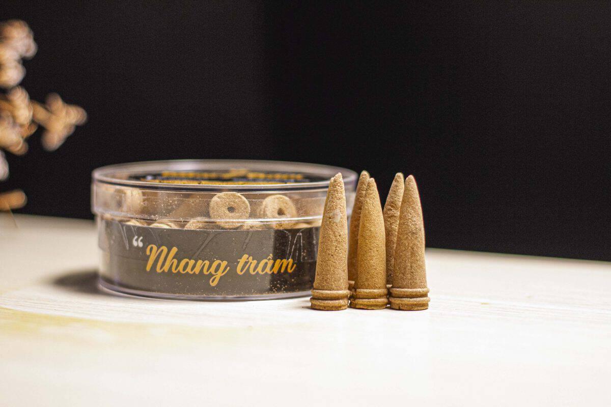 Agarwood incense cones