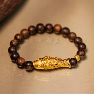 Carp Agarwood Bracelet