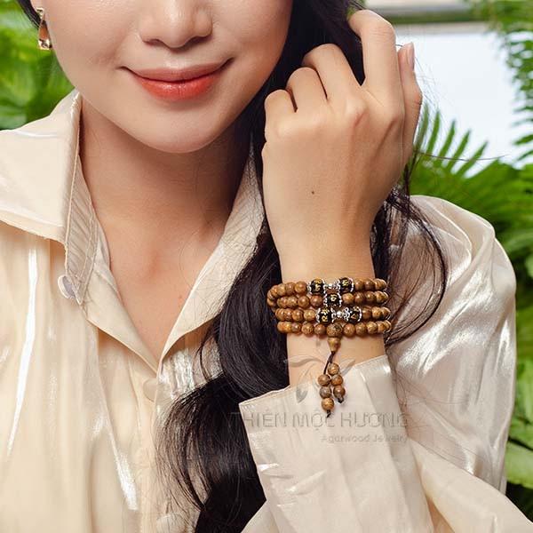 Tibetan 108 mala beads bracelet