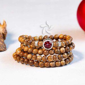 Agarmoon 108 beads mala - classic