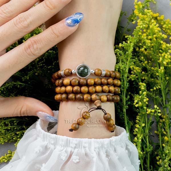 108-bead starlight mala beads bracelet