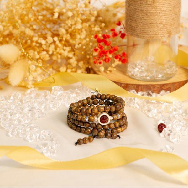 108-bead starlight mala beads bracelet - classic