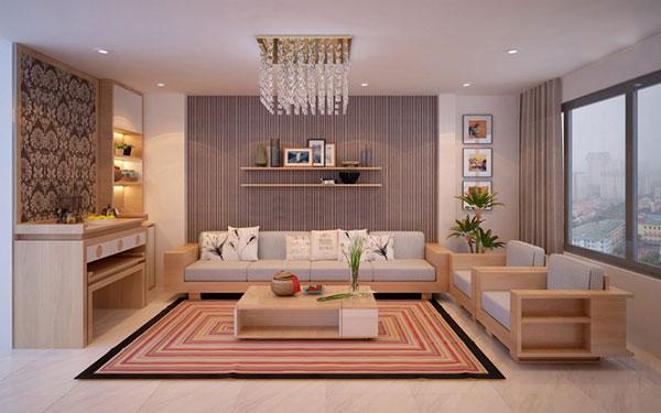 Feng shui for living room decoration