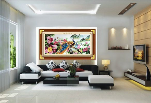 Age of the Rooster fengshui living room decoration