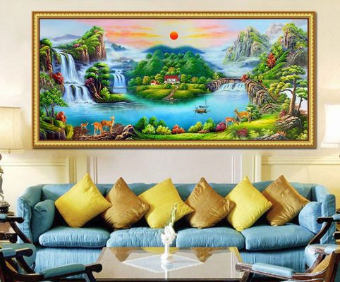 Age of the Dog fengshui living room decoration
