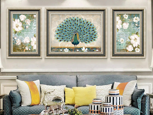 Age of the Pig fengshui living room decoration