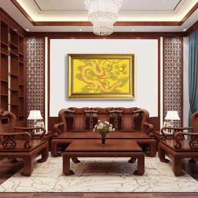Age of the Dragon fengshui living room decoration