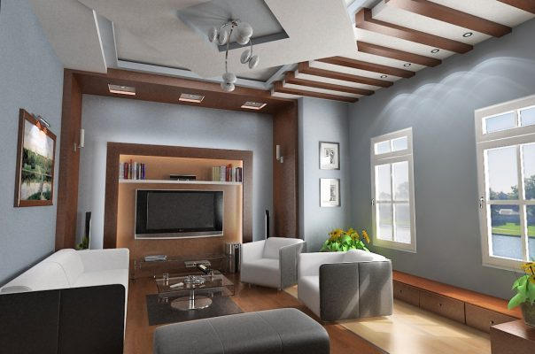 The layout of the living room in accordance with feng shui also helps to increase good air