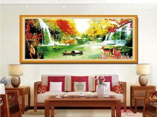 Age of the Goat fengshui living room