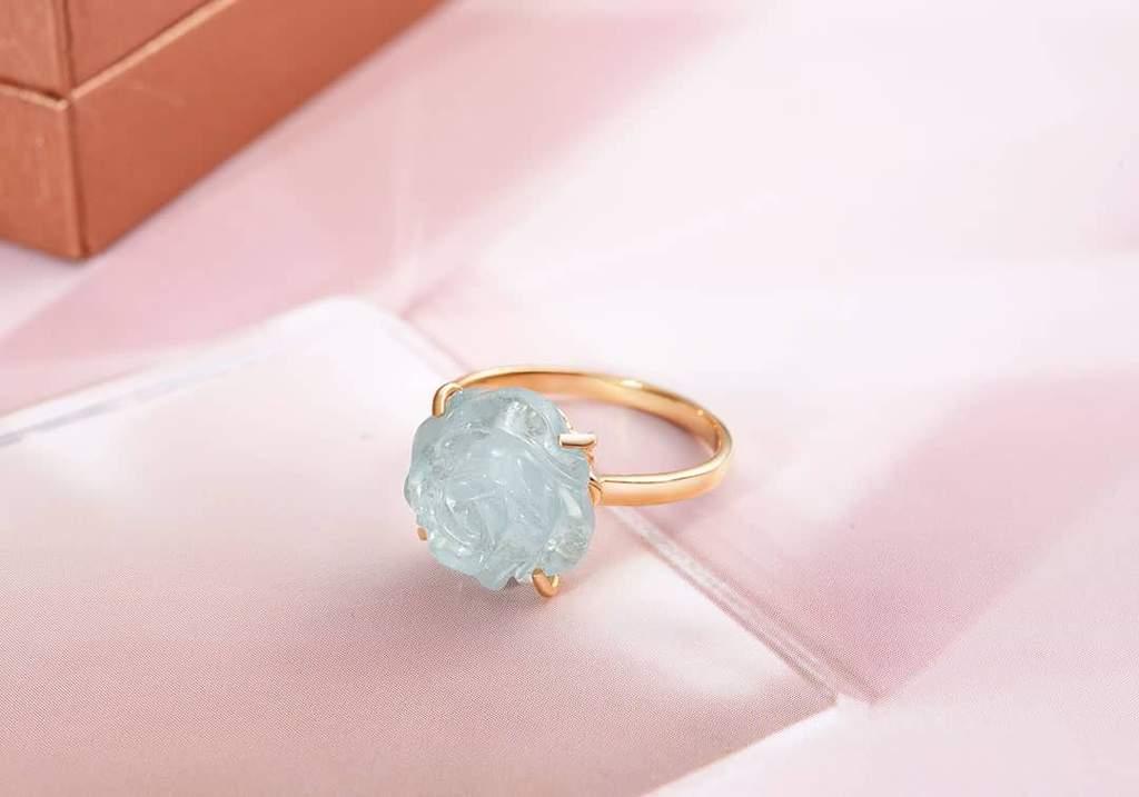 Ring-Aquamarine