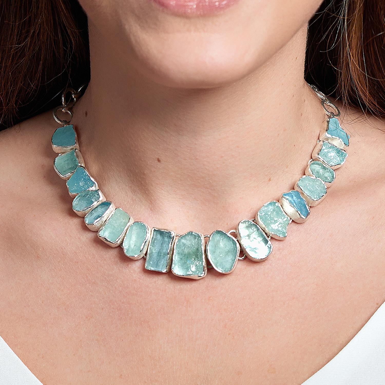 Necklace - Aquamarine