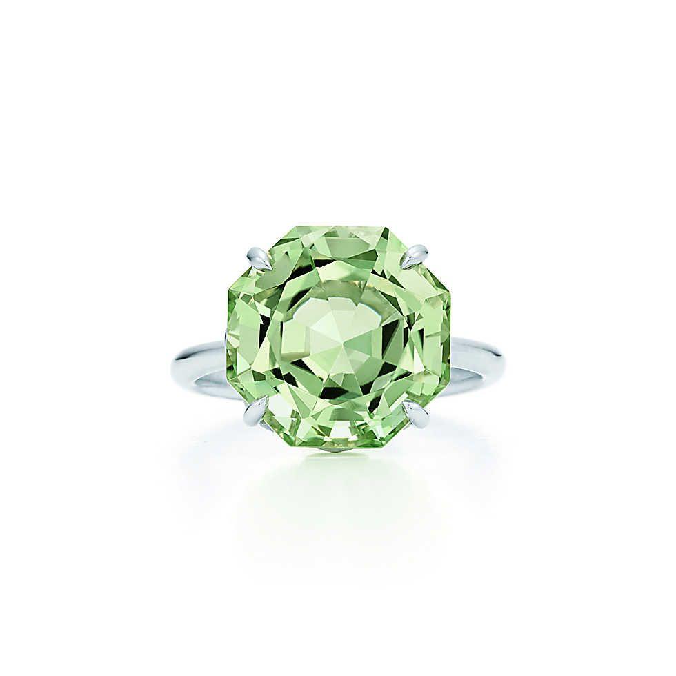 Ring - Green Quartz