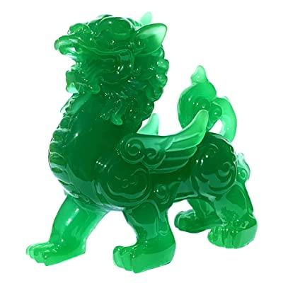 Pixiu - Green quartz stone: