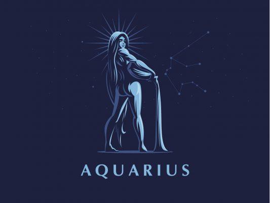 Aquarius zodiac in january