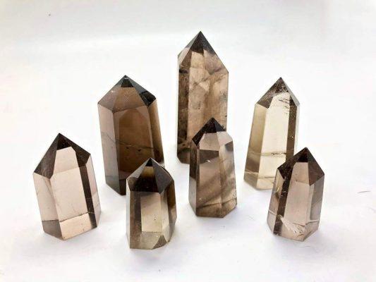 Smoky quartz, symbol of power.